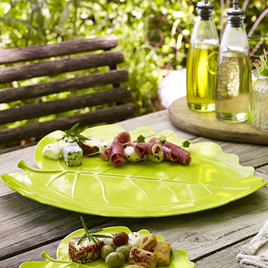 Large Leaf Platter