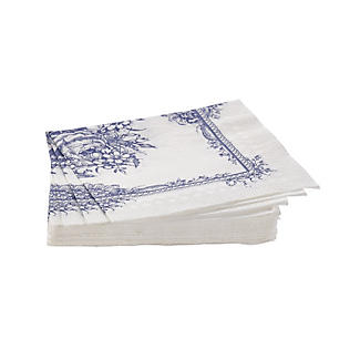 20 Party Porcelain Napkins