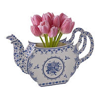 Party Porcelain Teapot Vase