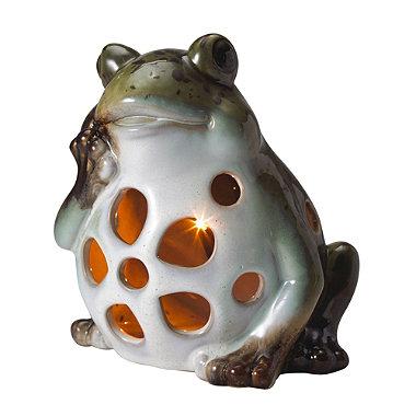 Ceramic Solar Frog