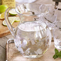 Dragonfly Glass Water Jug