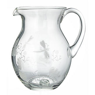 Dragonfly Glass Water Jug alt image 2