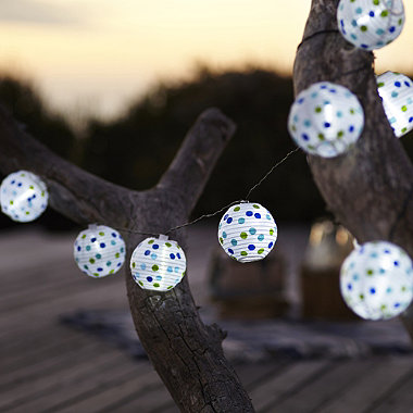 Dotty Party Lanterns