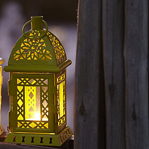 Green Tealight Lantern