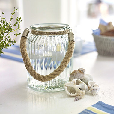 Rope Glass Lantern