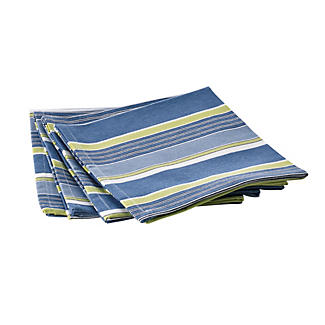 Summer Stripe 4 Napkins