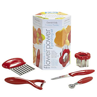 Flower Power Garnishing Set