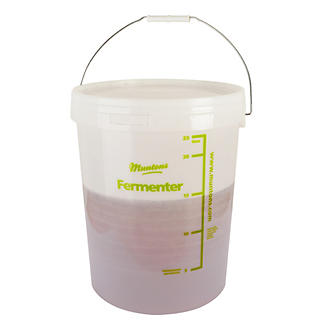 Muntons Beer & Wine Fermenting Bucket & Handle 23L