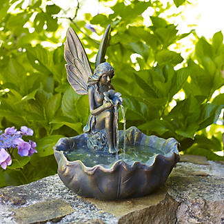 Solar Fairy Fountain