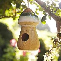 Mushroom Bird House