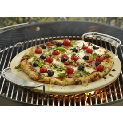 Weber® Gourmet Barbecue Pizza Stone in barbecue accessories at Lakeland