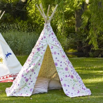Flowers And Butterflies Tipi In Gifts For Kids At Lakeland