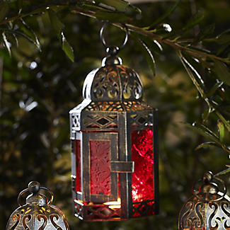 Traditional Lantern Red