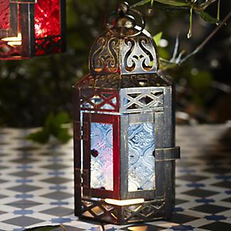 Traditional Lantern Turquoise