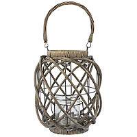 Large Rustic Willow Lantern
