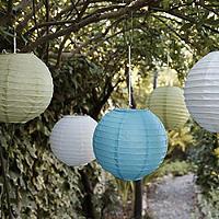 3 Paper Chinese Lanterns