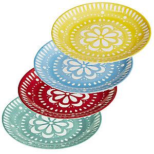 Picnic Party 4 Plates