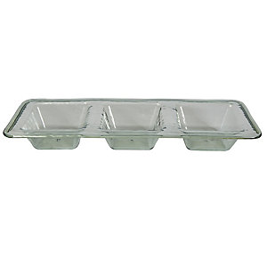 Glass Effect Unbreakable Picnicware - Dip Serving Tray