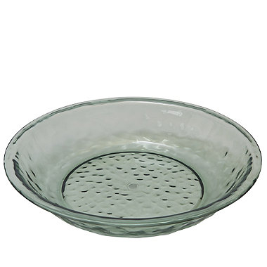 Glass Effect Unbreakable Picnicware - Salad Serving Bowl