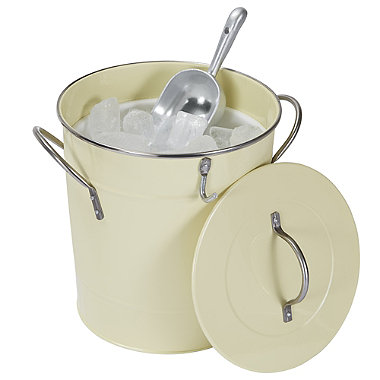 Contento Summer Drinks Ice Bucket With Lid & Scoop 4L