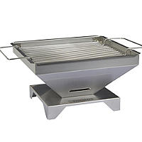Thüros® Tabletop Stainless Steel Barbecue Grill - Charcoal