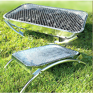 Asado Dual Disposable Instant Barbecue Grill Stand alt image 4
