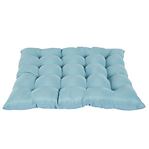 Ocean Blue Weatherproof Cushion