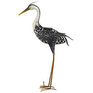 Heron Solar Ornament