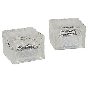 3 Frosted Glass Cube Lights