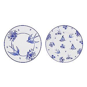 Party Porcelain 8 Plates