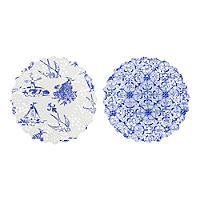 Party Porcelain 100 Mini Doilies