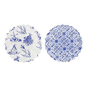 Party Porcelain 100 Mini Doilies