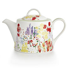 Painted Garden Teapot