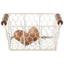 Rustic Wire Small Basket