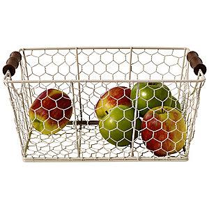 Rustic Wire Medium Basket