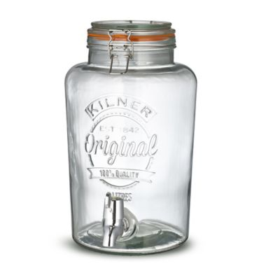 Ltr Glass Jar With Tap