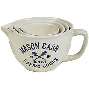 Mason Cash Varsity 4 Measuring Cups & Jugs Set