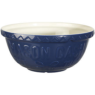 Mason Cash Varsity Navy Blue Mixing Bowl 4L