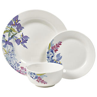 12-Piece Floral Dinner Set alt image 1