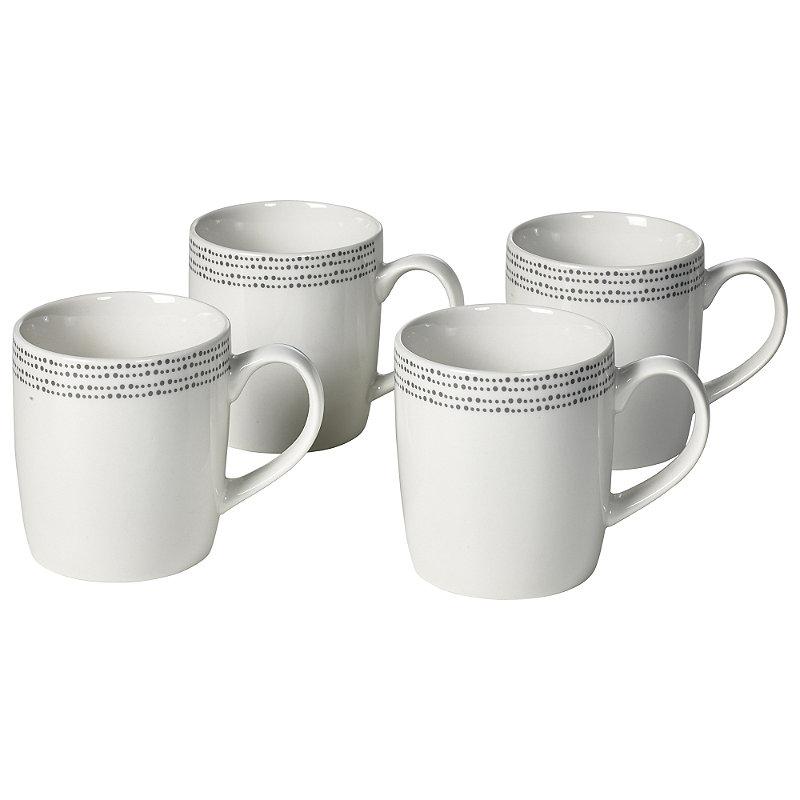 4 Pack Dotty Mugs