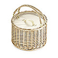 Lakeland Picnic Insulated Cool Wicker Basket 12L