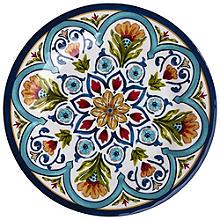 Amalfi Range Melamine Unbreakable Picnicware - Dinner Plate