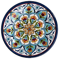 Amalfi Range Melamine Unbreakable Picnicware - Side Plate
