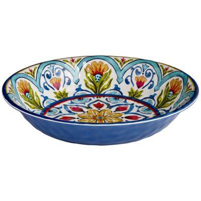 Amalfi Range Melamine Unbreakable Picnicware  Salad Serving Bowl