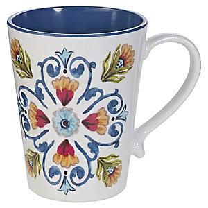Amalfi Range Melamine Unbreakable Picnicware - Mug
