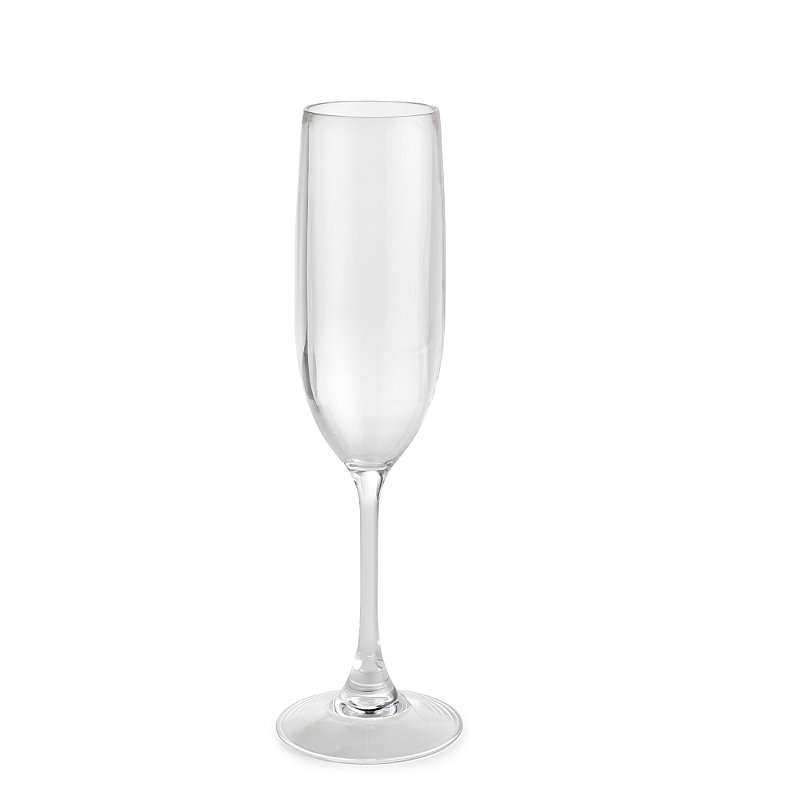 Party Proof Plastic Unbreakable Glassware - Champagne Flute