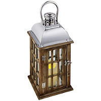 Wooden LED Lantern