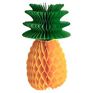 3 Fold-Out Pineapple Decorations