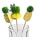 12 Pineapple Food Picks
