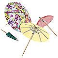 24 Floral Fiesta Pretty Parasols